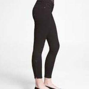 Express Low Rise Stella Ankle Zipper Jeans sz 8